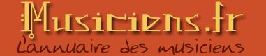 Le premier annuaire des musiciens professionnels en France